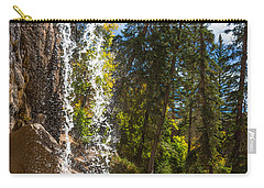 Behind Spouting Rock Waterfall - Hanging Lake - Glenwood Canyon Colorado Carry-all Pouch