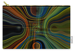 Behind The Drapes 3 Carry-all Pouch by Thibault Toussaint