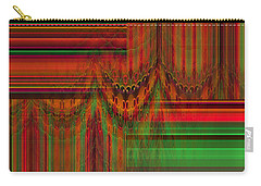 Behind The Drapes Carry-all Pouch by Thibault Toussaint
