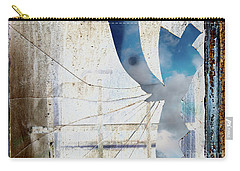 Behind The Window Carry-all Pouch by Michal Boubin