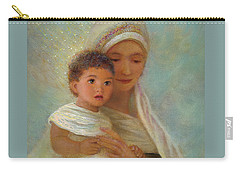 Carry-all Pouch featuring the painting Behold The Light by Nancy Lee Moran