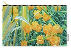 Behold, Tis The Season Of Tulip. April Is Here.   Carry-all Pouch by Bijan Pirnia