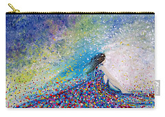 Being A Woman - #5 In A Daydream Carry-all Pouch by Kume Bryant