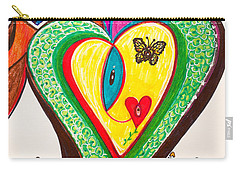 Being Alive - Iv Carry-all Pouch