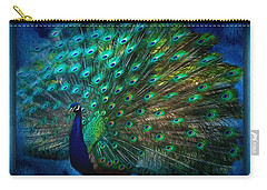Being Yourself - Peacock Art Carry-all Pouch