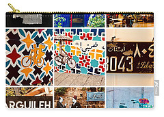 Beirut Colorful Life Carry-all Pouch