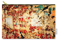 Beirut Funky Wall Art  Carry-all Pouch