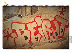 Beirut On A Graffiti Wall Carry-all Pouch