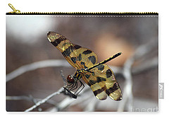 Bejeweled Wings Carry-all Pouch