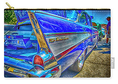 Bel Air Blue Carry-all Pouch