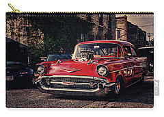 Carry-all Pouch featuring the photograph Bel Air Hotrod by Joel Witmeyer