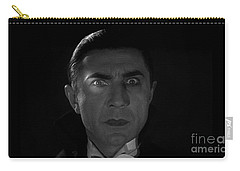 Bela Lugosi  Dracula 1931 And His Piercing Eyes Carry-all Pouch