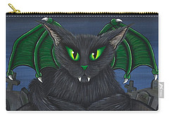 Bela Vampire Cat Carry-all Pouch
