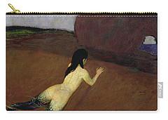 Belanschung Carry-all Pouch by Franz von Stuck