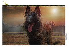 Belgian Shepherd Carry-all Pouch by Rose-Marie Karlsen