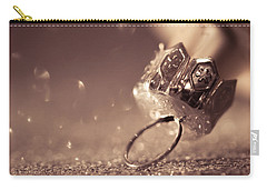 Carry-all Pouch featuring the photograph Believe In The Magic by Yvette Van Teeffelen
