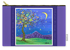 Believe In Your Dreams - Inspire Carry-all Pouch by Tanielle Childers