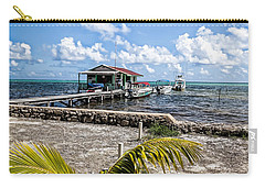 Belizean Marina Carry-all Pouch