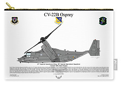 Bell Boeing Cv-22b Osprey 20sos Carry-all Pouch