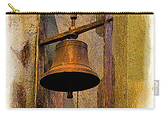 Bell In The Old Cathedral Of Cuenca, Ecuador Carry-all Pouch
