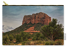 Carry-all Pouch featuring the photograph Courthouse Butte - Sedona  by Saija Lehtonen