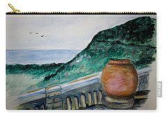 Bella Vista, Cumae Italy Carry-all Pouch by Clyde J Kell
