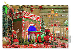 Bellagio Christmas Train Decorations And Ornaments Carry-all Pouch