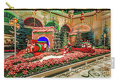 Bellagio Christmas Train Decorations Angled 2017 Carry-all Pouch