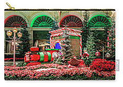 Bellagio Christmas Train Decorations Panorama 2017 Carry-all Pouch