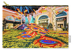 Bellagio Conservatory Fall Peacock Display Side View Wide 2017 Carry-all Pouch