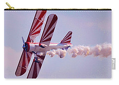 Belly Of A Biplane Carry-all Pouch
