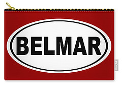 Carry-all Pouch featuring the photograph Belmar New Jersey Home Pride by Keith Webber Jr