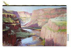 Below Palouse Falls Carry-all Pouch