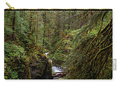 Below The Falls Carry-all Pouch