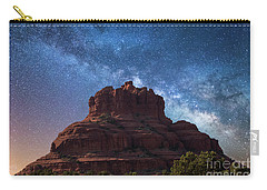 Below The Milky Way At Bell Rock Carry-all Pouch