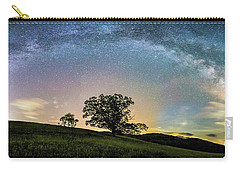 Below The Milky Way At The Blue Ridge Mountains Carry-all Pouch