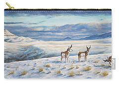Belt Butte Winter Carry-all Pouch by Kim Lockman