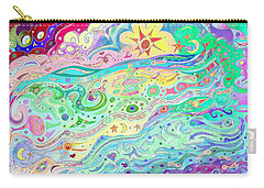 Beltaine Seashore Dreaming Carry-all Pouch