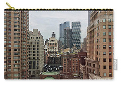 Belvedere Hotel New York City  Room With A View Carry-all Pouch