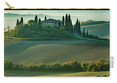 Carry-all Pouch featuring the photograph Belvedere - Tuscany II by Brian Jannsen