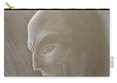 Ben As Batman Carry-all Pouch by Josetta Castner
