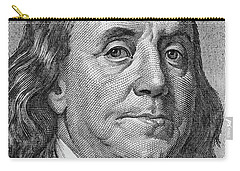 Carry-all Pouch featuring the photograph Ben Franklin by Les Cunliffe