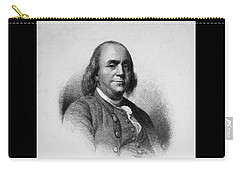 Carry-all Pouch featuring the photograph Ben Franklin by Richard W Linford