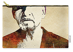 Ben Kingsley Carry-all Pouch by Mihaela Pater