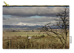 Carry-all Pouch featuring the photograph Ben Ledi Across The Carse by RKAB Works