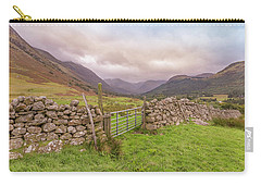 Ben Nevis Mountain Range Carry-all Pouch by Roy McPeak