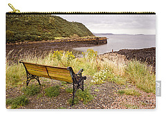 Bench At The Bay Carry-all Pouch