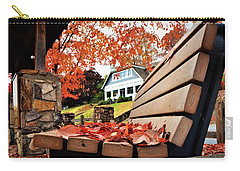 Bench Leaves Carry-all Pouch