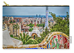 Bench Of Barcelona Carry-all Pouch
