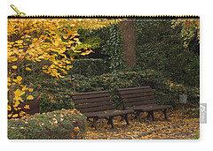 Benches In The Park Carry-all Pouch